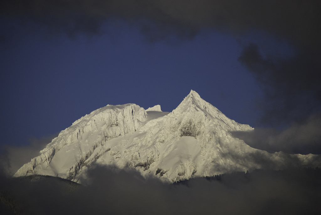Garibaldi Mountain from Smoke Bluffs summit, Squamish BC